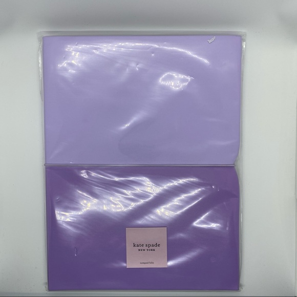 Kate Spade New York Purple Notepad Folio